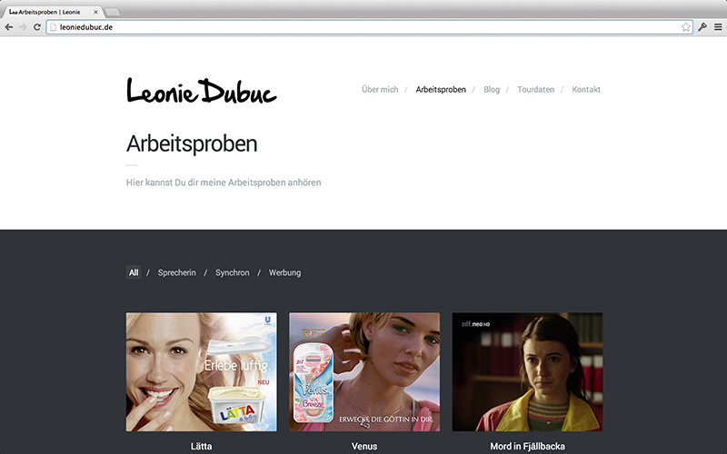 Yeah! Neue Website!